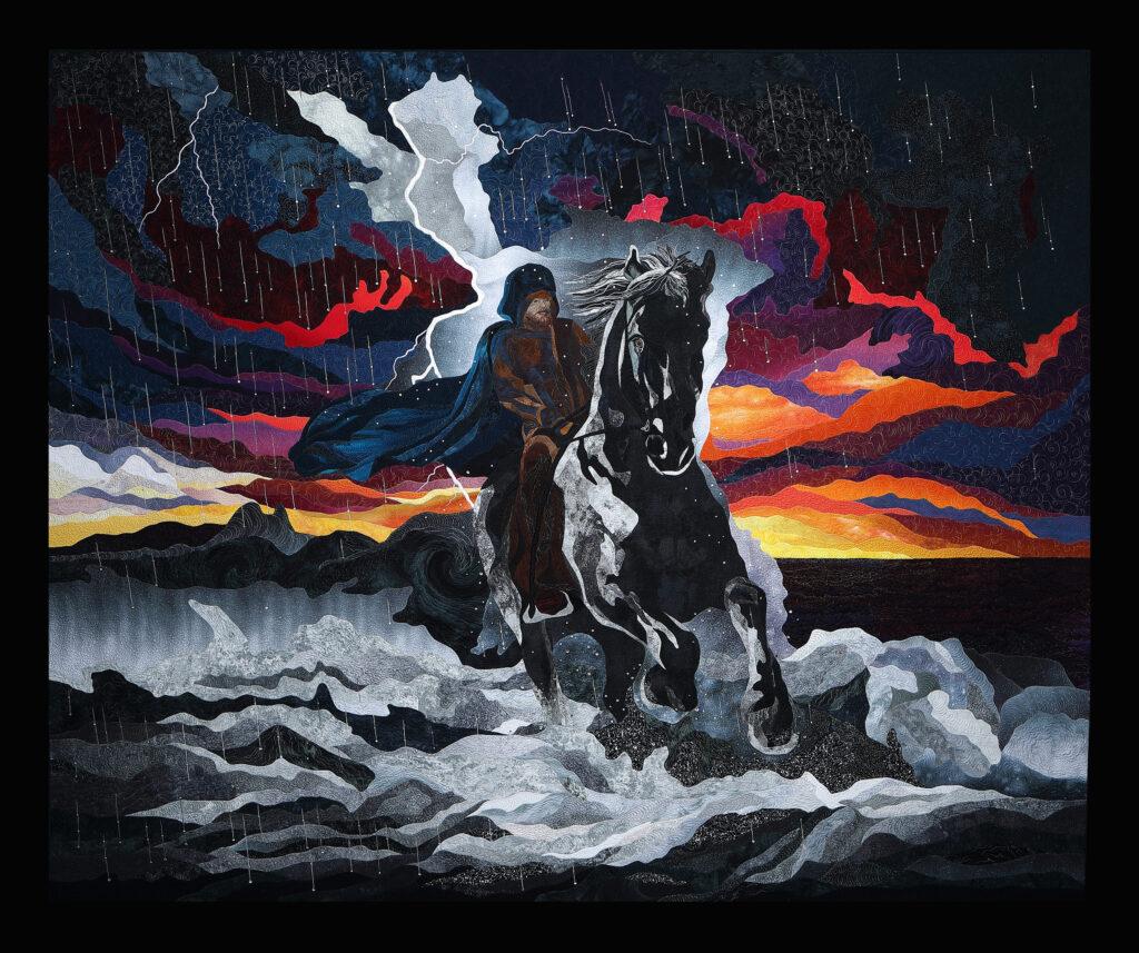 Storm Rider – 196 cm x 161 cm